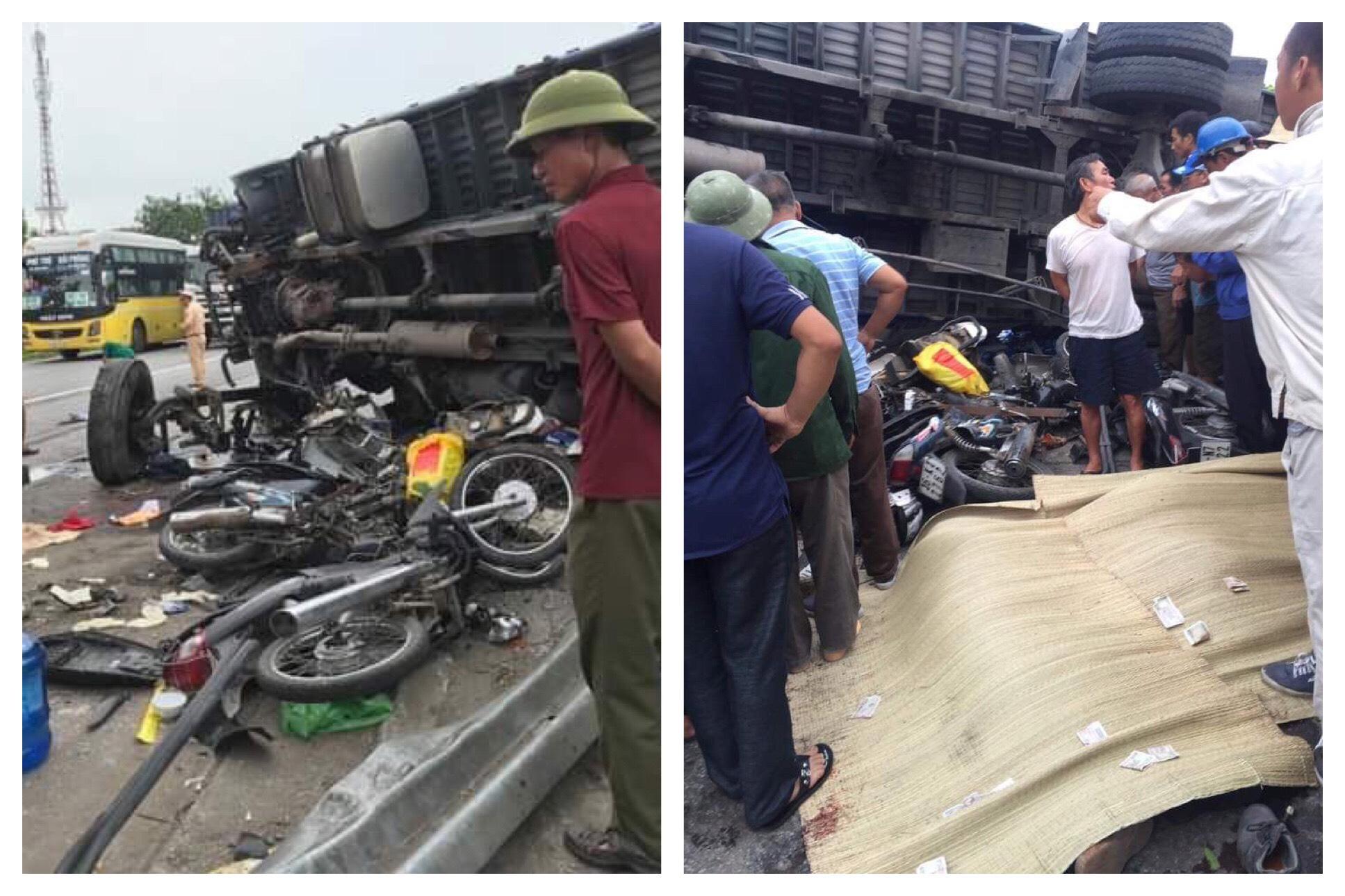 3 vụ tai nạn sát nhau trên QL 5, Hải Dương: 7 người chết, 2 người bị thương - 1