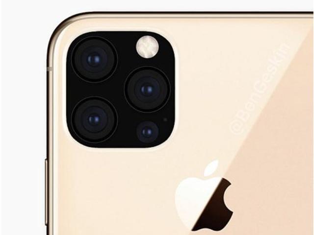 iPhone 11 chưa ra, ý tưởng iPhone 12 với 4 camera đã xuất hiện