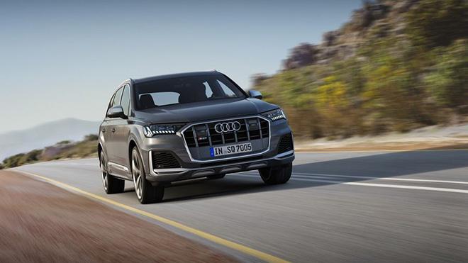 Audi SQ7 TDI 2020 bản facelift với nhiều nâng cấp về nội, ngoại thất và các tính năng thông minh - 1