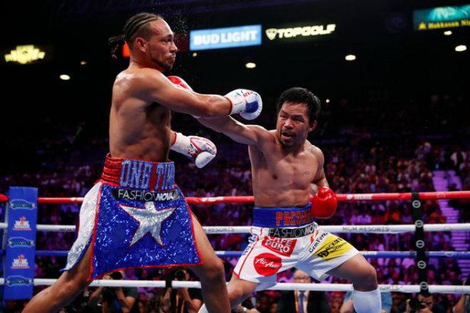 """Pacquiao 40 tuổi vẫn vô địch boxing: Mayweather nói 2 câu """"lạnh người"""" - 1"""