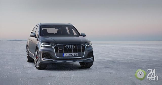 Audi SQ7 TDI 2020 bản facelift với nhiều nâng cấp về nội, ngoại thất và các tính năng thông minh