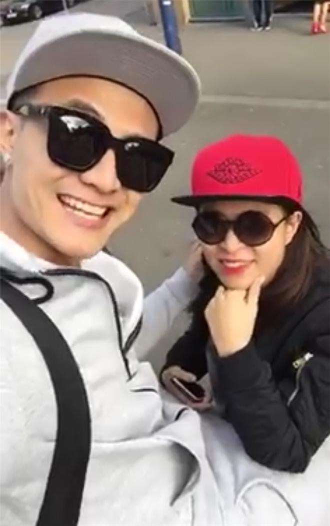 Hoàng Thùy Linh bất ngờ xuất hiện trong clip tình tứ với Vĩnh Thụy - 1