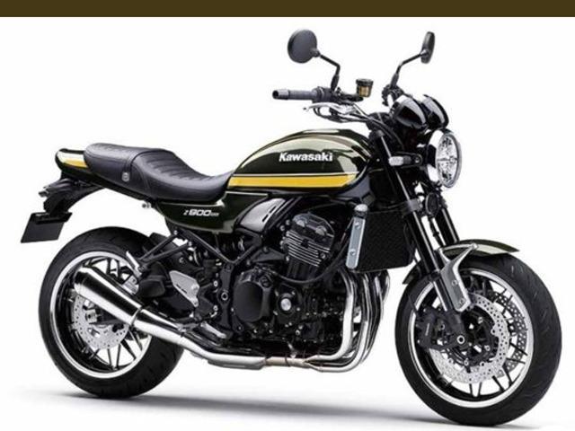 Mô tô hoài cổ 2020 Kawasaki Z900RS nhận thêm màu tùy chọn mới