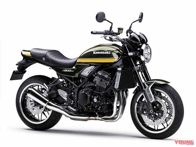 Mô tô hoài cổ 2020 Kawasaki Z900RS nhận thêm màu tùy chọn mới - 1