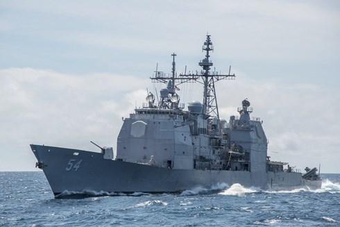 """Trung Quốc nói """"không ngán"""" chiến tranh, Mỹ điều ngay chiến hạm qua eo biển Đài Loan - 1"""
