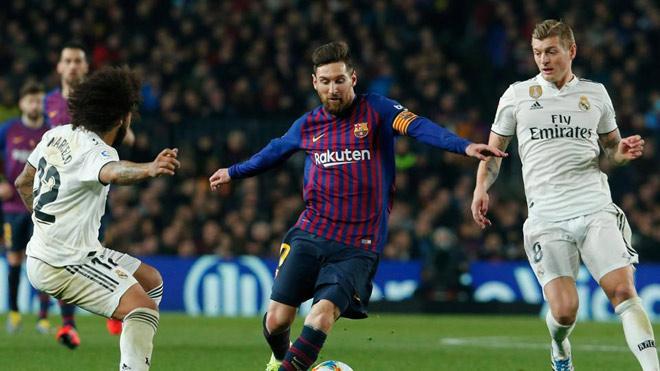 """""""Siêu kinh điển"""" Barca – Real chốt lịch: Messi đọ tài Hazard khi nào? - 1"""