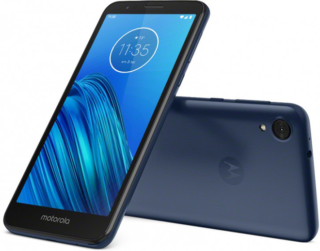 """Ra mắt Motorola Moto E6 giá cực rẻ, pin """"khủng"""" - 1"""