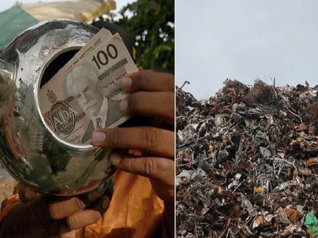 Chàng trai nghèo nhặt được một đống tiền trong bãi rác nhưng vẫn muốn trả lại