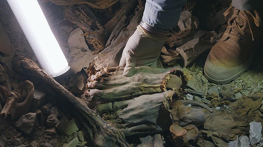 60 xác ướp Ai Cập cổ chôn giấu bí mật chết chóc đáng sợ - 1
