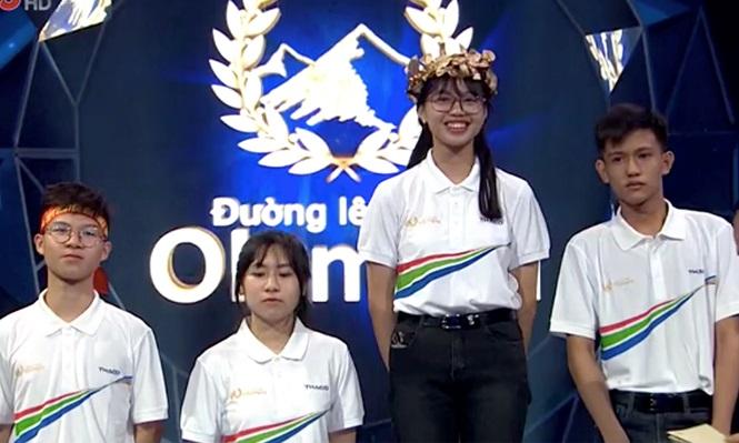 """Nữ sinh tự nhận """"đầu gấu"""" nhất Đường lên đỉnh Olympia - 1"""