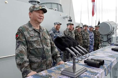 """Trung Quốc """"quây biển"""" tập trận cả ở Biển Đông, biển Hoa Đông gần Đài Loan - 1"""