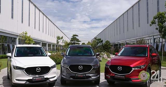 Chi tiết Mazda CX-5 thế hệ 6.5 tại nhà máy Mazda Chu Lai