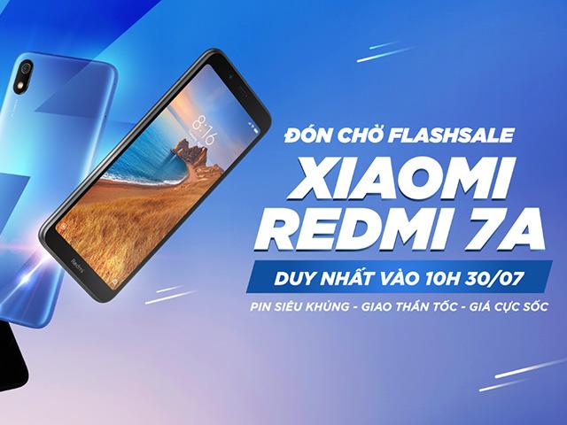 Smartphone Xiaomi Redmi 7A giảm mạnh còn khoảng 2 triệu đồng chỉ có tại Tiki