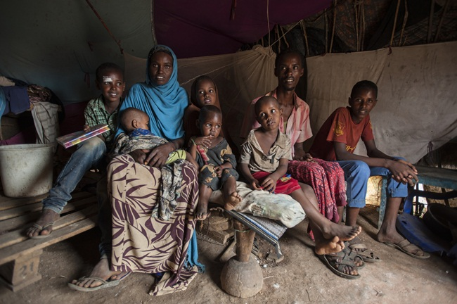 Mặc dù, Somalia ngăn chặn nạn đói lan rộng trong năm 2017 nhưng hạn hándẫn đến mất an ninh lương thực quy mô lớn, ảnh hưởng 6 triệu người.