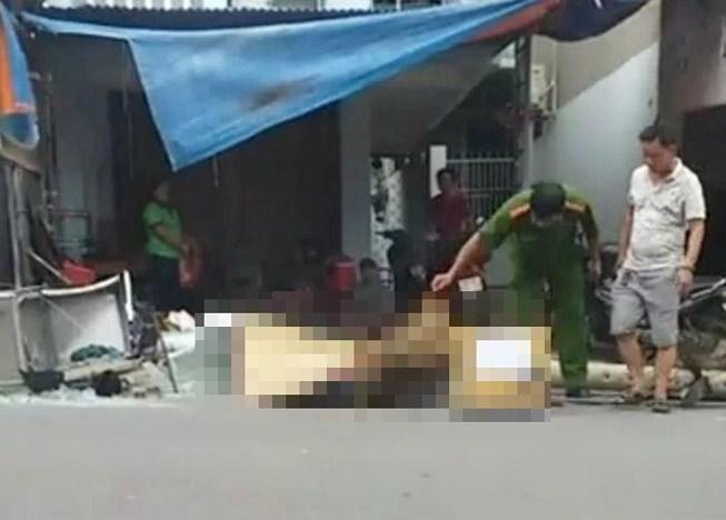 Cột điện đè chết người chạy xe máy ở Biên Hòa - 1