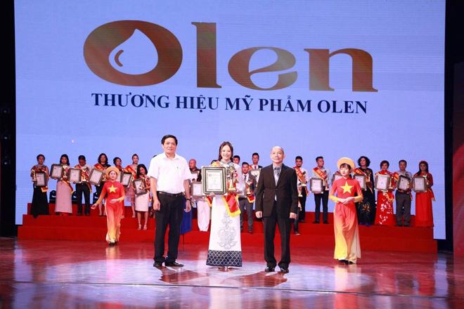 Mỹ phẩm thiên nhiên Olen được vinh danh top 10 thương hiệu - nhãn hiệu nổi tiếng Đất Việt 2019 - 1