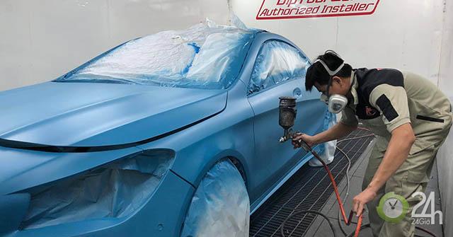 Thú đổi màu xe hơi và công nghệ sơn lột