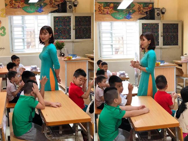 """Hiếm có cô gái nào """"nổi bền vững"""" như Bùi Thúy Ngân (sinh năm 1991) - giáo viên tiểu học tại Hà Nội. Cách đây 3 năm, Thúy Ngân từng là hiện tượng mạng xã hội với danh xưng """"cô giáo hot girl""""."""