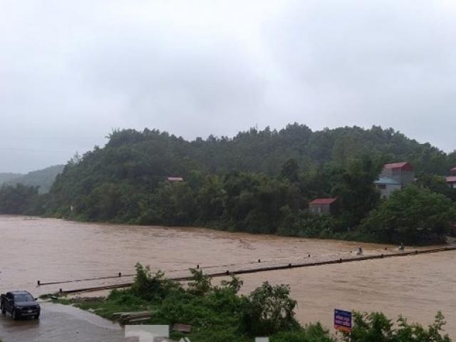 Ngập lụt nghiêm trọng nhiều nơi ở Lạng Sơn