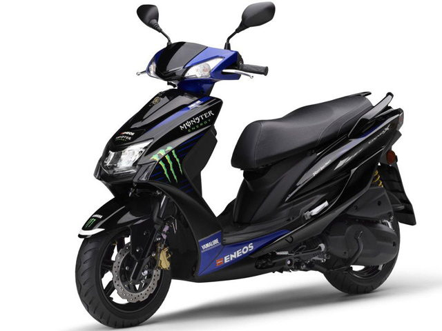 HOT: Yamaha ra mắt Cygnus-X Monster Energy MotoGP Edition