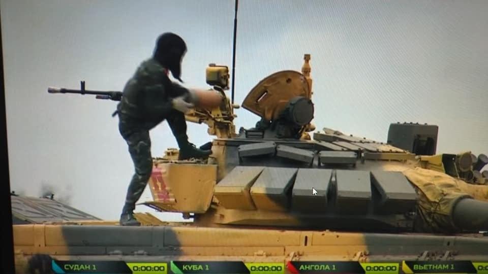 Chùm ảnh: Đội tuyển xe tăng Việt Nam thi đấu ngày đầu tiên tại Tank Biathlon - 1