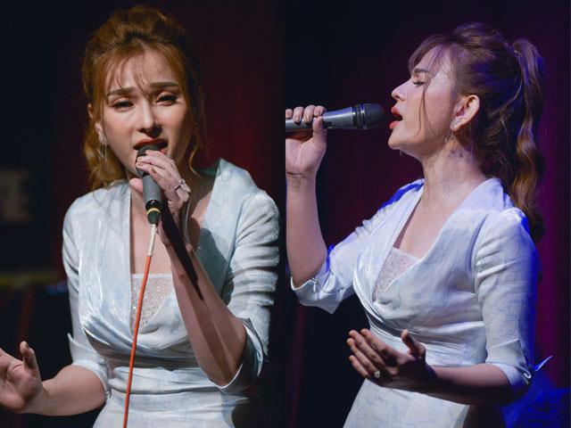"""Đời sống Showbiz - Thu Thủy đi hát giữa """"bão"""" scandal chồng mới cưới bạo hành con riêng của vợ"""
