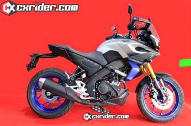 Yamaha MT-15 Tracer sắp ra mắt, quyết đấu Honda CB125X - 1