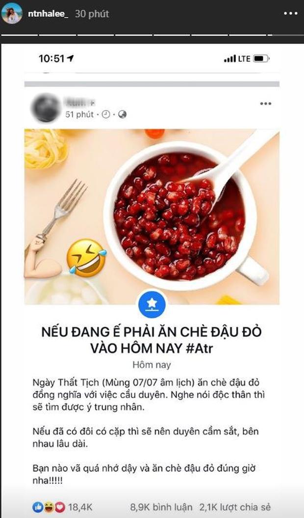 Sao Việt 'phát cuồng' vì món ăn này trong ngày Thất Tịch - 1
