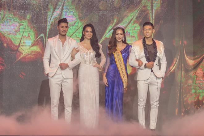 Bỏ thi Mister World 2019, Trần Công Hậu tái xuất sàn diễn cùng Hoa hậu Thái Lan - 1