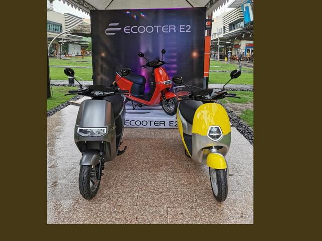 Xe ga điện Ecooter E2: Đối thủ trên tầm VinFast Klara, tốc độ 90 km/h