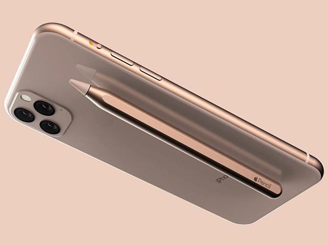 Ý tưởng iPhone 11 với bút stylus - Galaxy Note10 hãy đợi đấy