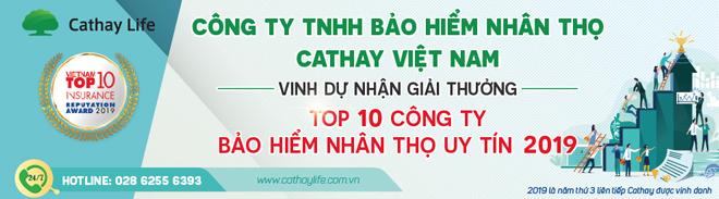 Cathay Life Việt Nam vinh dự nhận giải thưởng Top 10 công ty Bảo hiểm nhân thọ uy tín 2019 - 3
