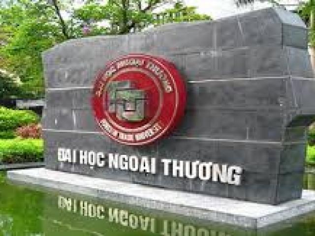 Điểm chuẩn của trường Đại học Ngoại thương cao nhất là 26,04 điểm