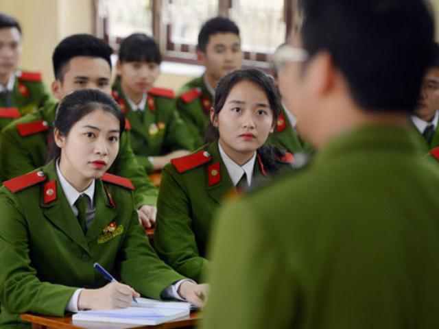 Học viện An ninh nhân dân công bố điểm chuẩn 2019