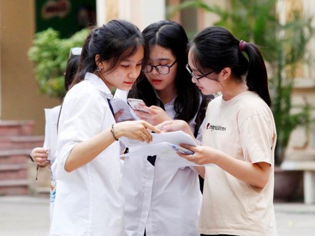 Trường ĐH Luật Hà Nội lấy điểm chuẩn cao nhất 27,25 điểm