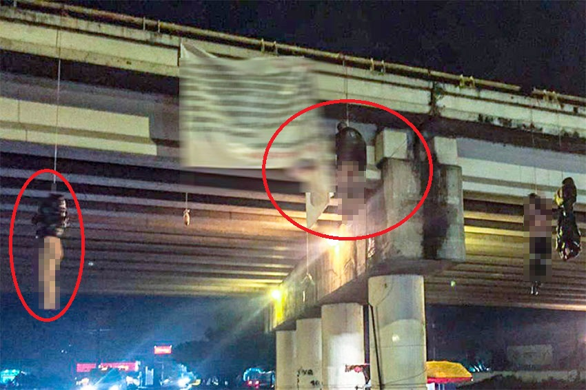 Băng đảng nguy hiểm nhất Mexico sát phạt đối thủ, la liệt xác chết treo lơ lửng trên cầu - 1