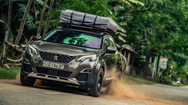 """Peugeot 3008 """"One-off"""" cùng Top Gear chinh phục Việt Nam - 1"""