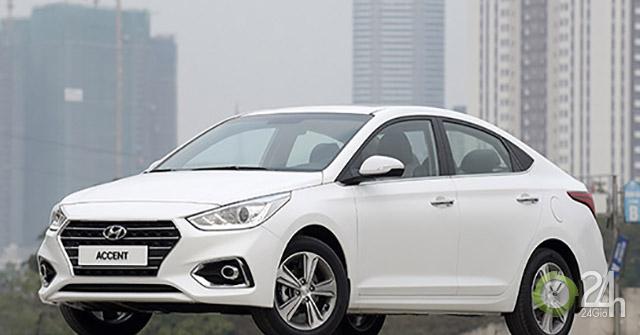 Accent là dòng xe bán chạy nhất của Hyundai tại Việt Nam trong tháng 7/2019