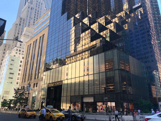 Giống như bất kỳ điểm đến thu hút nào ở thành phố New York, Trump Tower ở Midtown có một loạt các cửa hàng bán lẻ cung cấp rất nhiềumón quà lưu niệm cho khách du lịch ...