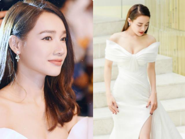 """Nhã Phương """"đốt mắt"""" với váy trễ khoe vòng 1, đụng hàng mỹ nhân đẹp nhất Thái Lan"""
