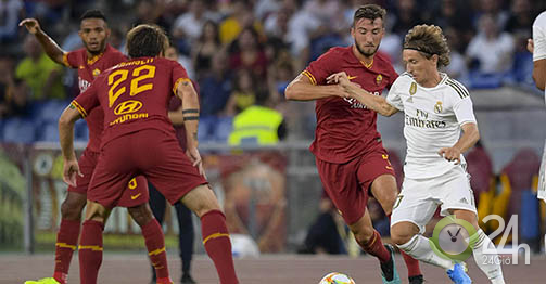 AS Roma – Real Madrid: Persecution of 4 goals, hero of the