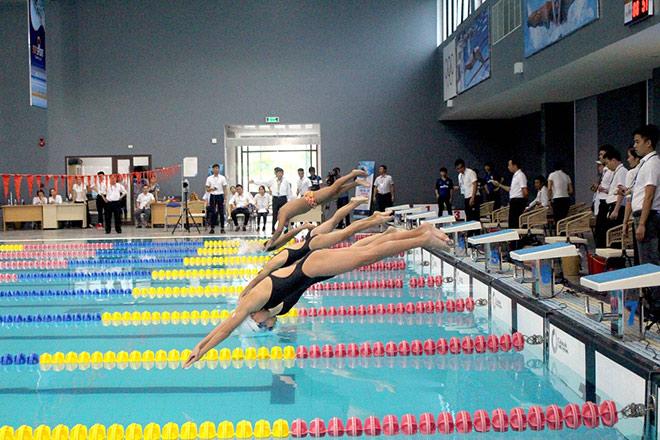 154 huy chương đã trao tại Giải bơi lặn vô địch các CLB quốc gia khu vực 1 Cúp Sun Sport Complex - 1