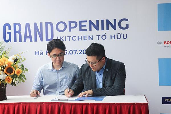Bếp iKitchen ký kết hợp tác chiến lược với Mitsubishi Cleansui - 1