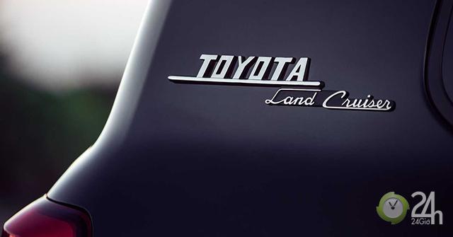 Toyota Land Cruiser phiên bản đặc biệt sản xuất giới hạn chỉ 1200 chiếc trên toàn thế giới