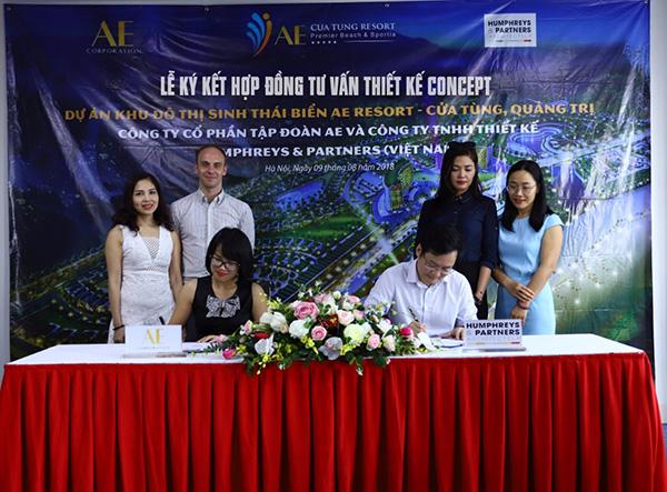 """AE Resort Cửa Tùng chính thức """"bắt tay"""" với Humphreys & Partners Architects - 1"""