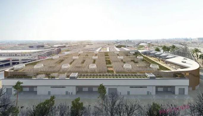Độc đáo nông trại sân thượng lớn nhất thế giới - 2