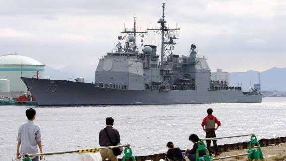Giữa căng thẳng leo thang, Trung Quốc không cho phép tàu chiến Mỹ cập cảng Hồng Kông - 1