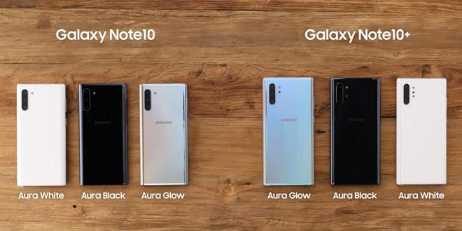 Đây là 9 điểm khác biệt quan trọng trên Galaxy Note10 và Galaxy Note10+ - 1