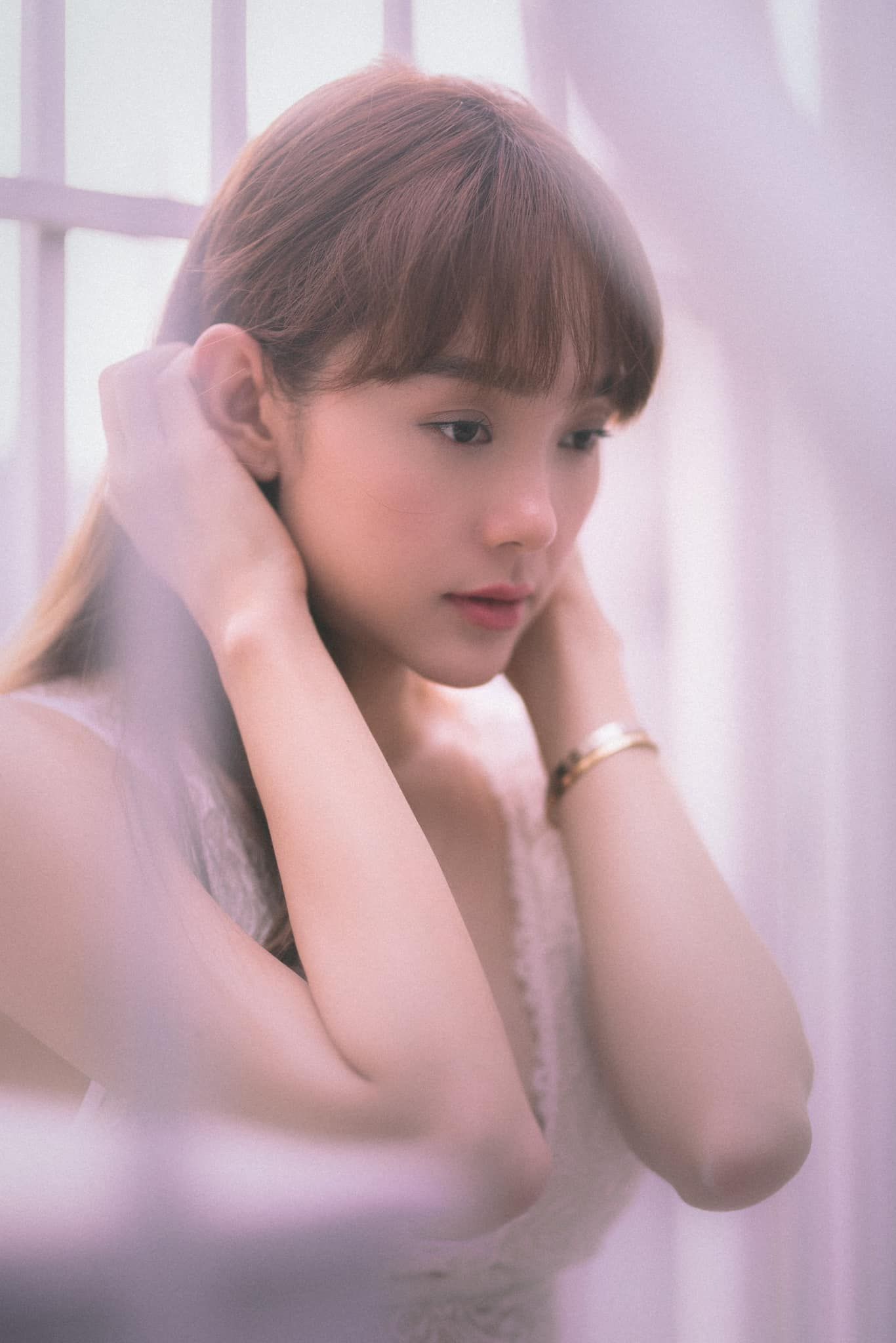 Minh Hằng diện quần 15cm, trẻ đẹp tựa thiếu nữ ngập tràn sức sống - 4