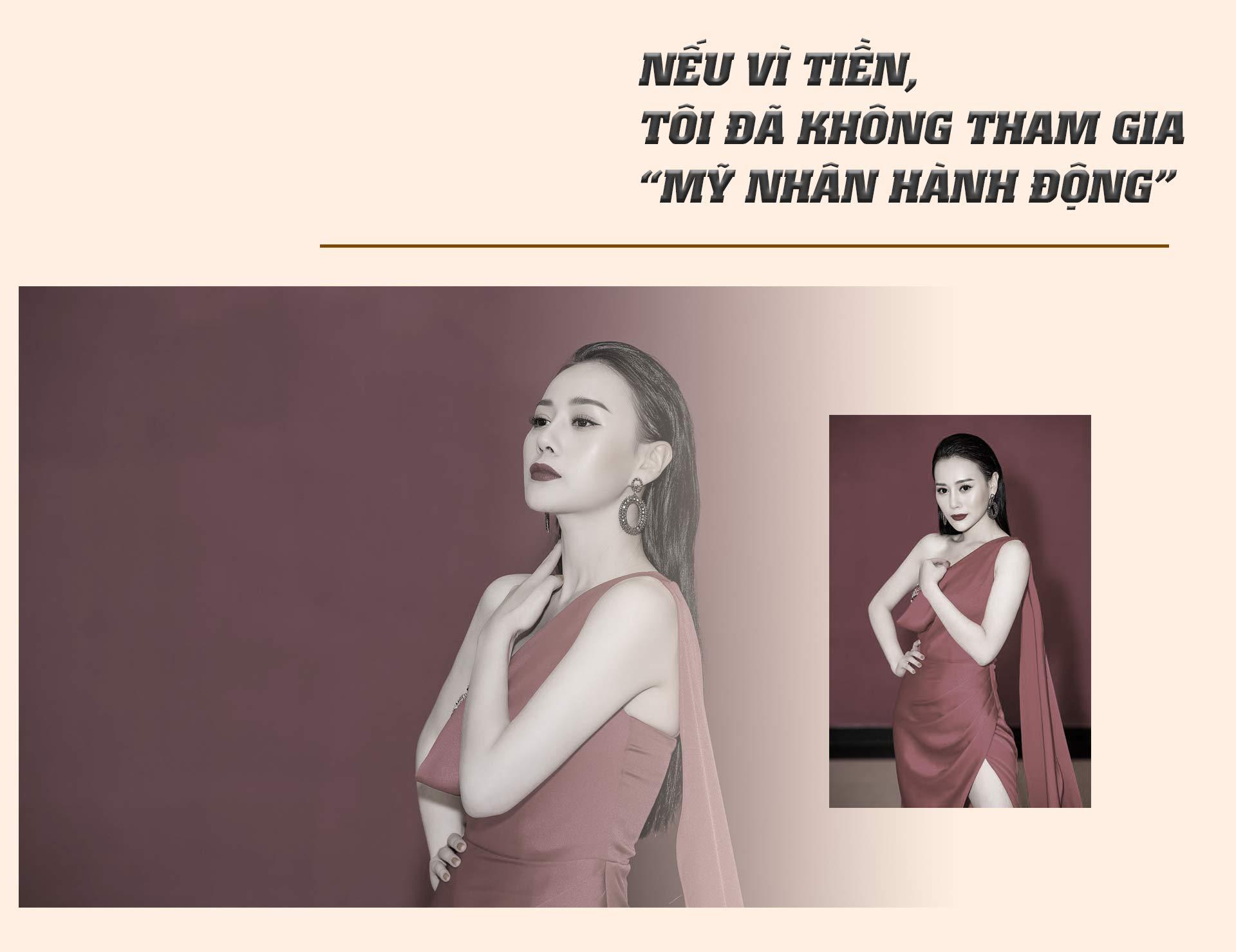 """Phương Oanh """"Quỳnh búp bê"""": Đóng bị cưỡng bức dễ hơn cảnh nóng tình cảm - 4"""
